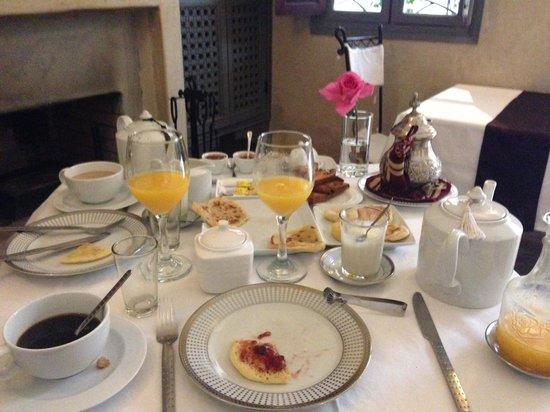 Riad Al Badia: petit déjeuner