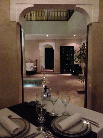 Riad Al Badia: Diner de rêve en amoureux