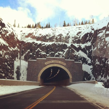Grand Superior Lodge : Road tunnels in Two Harbors