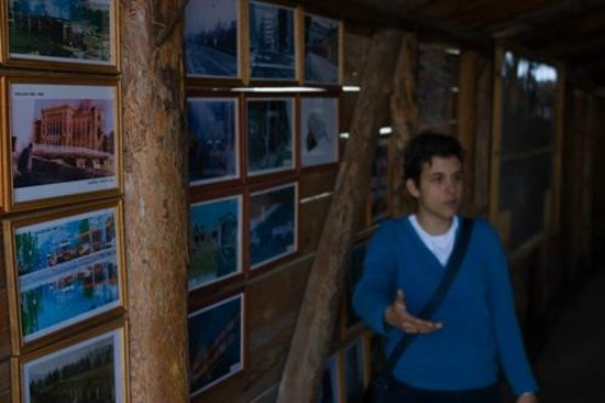 Insider City Tours & Excursions: Adnan showing us pictures