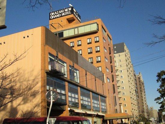Okazaki New Grand Hotel : 安心