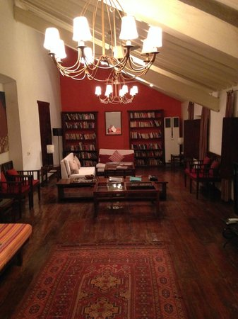 Siolim House : Library
