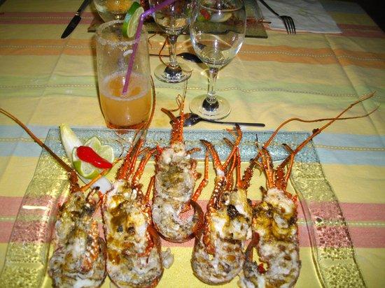 Manman'dlo - La Sirène : les langoustes