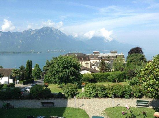 Hotel Masson: Вид с террасы отеля