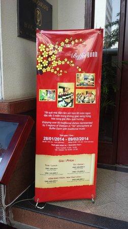 Bong Sen Hotel Saigon : Les prix