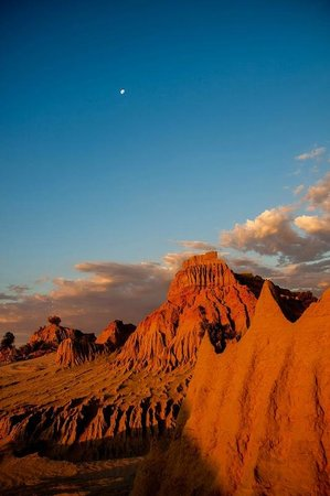 Mungo National Park: Sunset view
