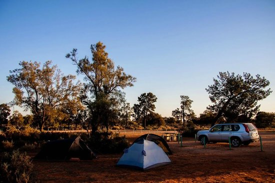 Mungo National Park: Main camp