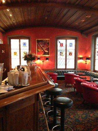 Storchen Zurich: bar 1st floor