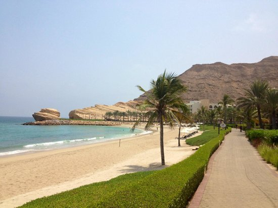 Shangri La Barr Al Jissah Resort & Spa - Al Bandar Hotel : First morning in Paradise - Al-Bandar