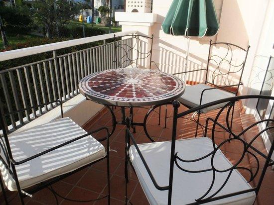 Flamingo Club: balcony