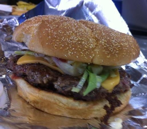 The Tap & Still Redhook: Best burger in St. Thomas.