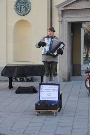 Odeonsplatz: мини-концерт