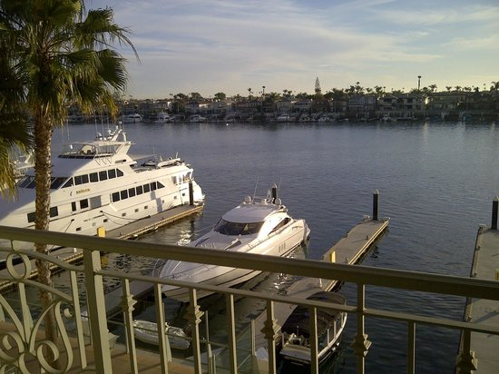 Balboa Bay Resort: View from bayview room terrace