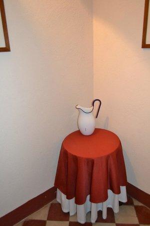 Il Chiostro del Carmine : Détail plein de charme de la chambre