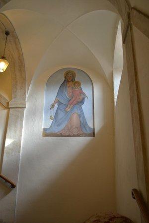Il Chiostro del Carmine: L'Escalier