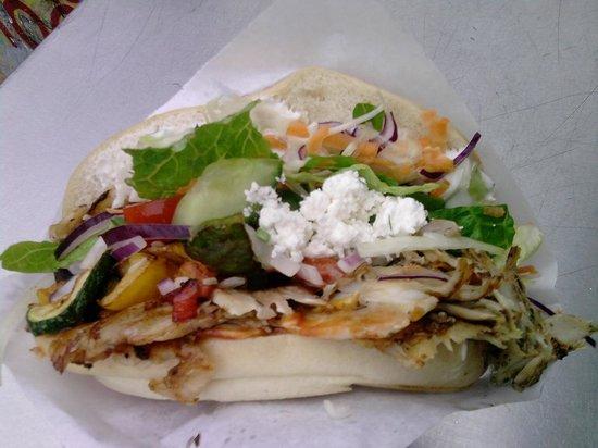 Mustafa's Gemüse Kebab: Kebap