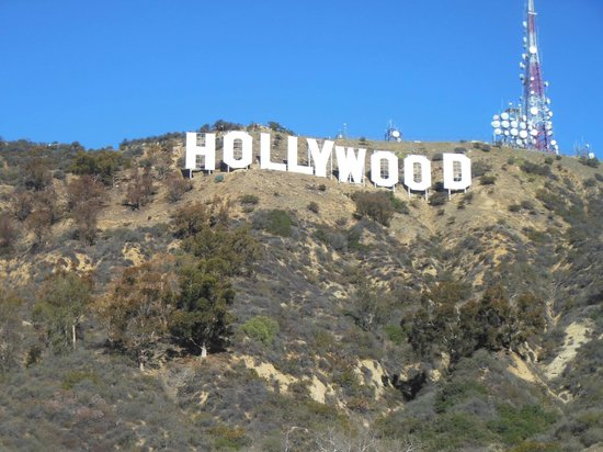 Elite Adventure Private Tours: OUR private view of the Hollywood sign