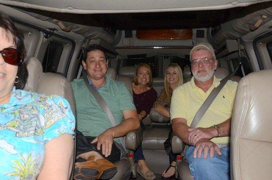 Elite Adventure Private Tours: Our private van