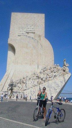 Río Tajo: Monumento Padrão do Descobrimento.