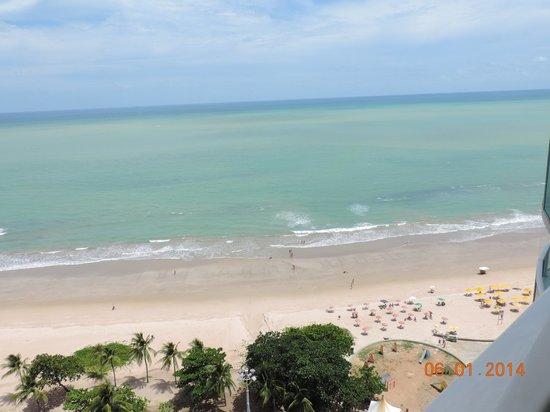 Radisson Recife: Praia de Boa Viagem