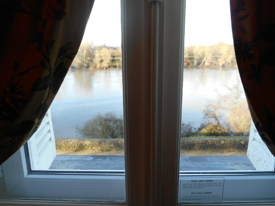Le Choiseul : vista da janela