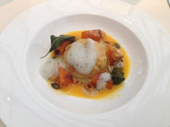 Belmond Le Manoir aux Quat'Saisons: Butternut squash ravioli