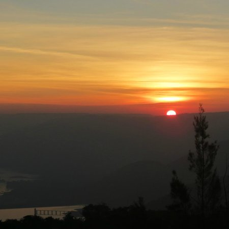 Ramsukh Resorts & Spa: Sunrise captured from Ramsukh