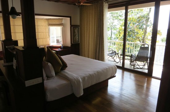 SpiceTree Munnar: our room and part of its balcony