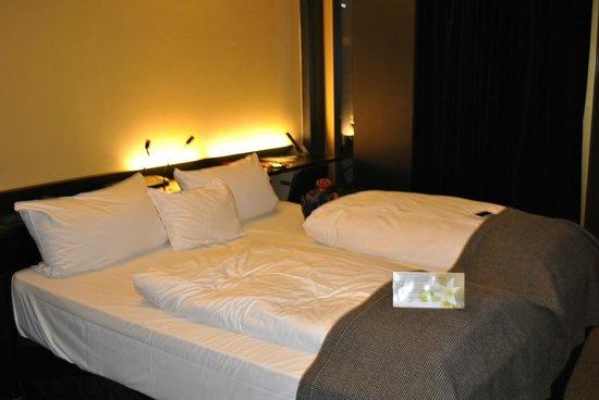 Axel Hotel Berlin : letto comodissimo