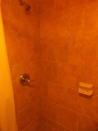 Plantation Inn: Grande douche propre de notre chambre 142 - 19 janvier 2014.