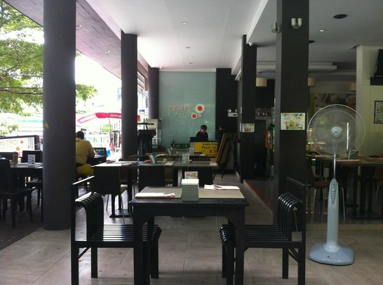 Bistro Park: panoramic view of the restaurant