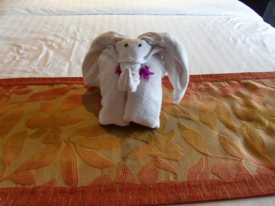 Club Med Bintan Island: elephant