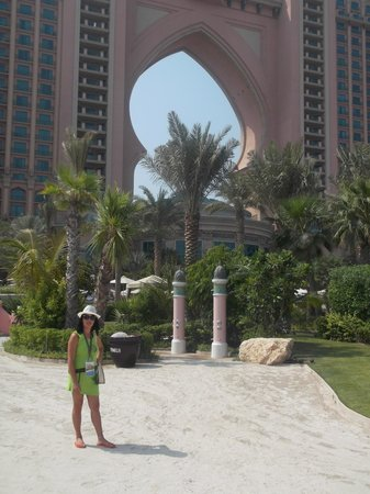 Atlantis, The Palm: Exterior,zona de playa.