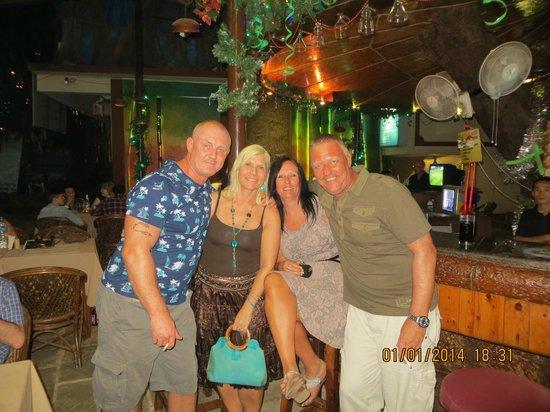 Bending Bamboo: Me and Jayne,Debs and Mark..