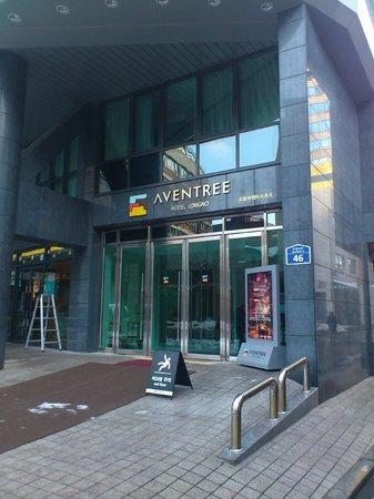 Aventree Hotel Jongno: 正面入り口