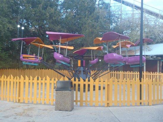 Busch Gardens : children's rides
