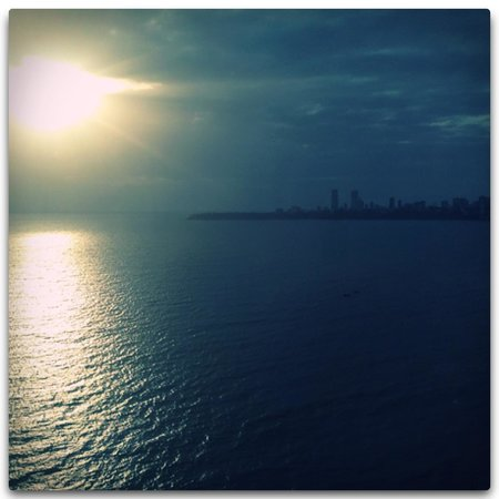 Trident, Nariman Point: The view from my room