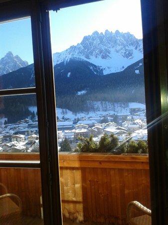 Hotel Leitlhof - Dolomiten : L'accesso al terrazzo