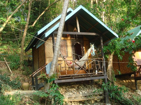 Viking Natures Resort : little hut up in the hill