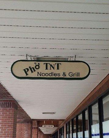 Pho TNT Sign