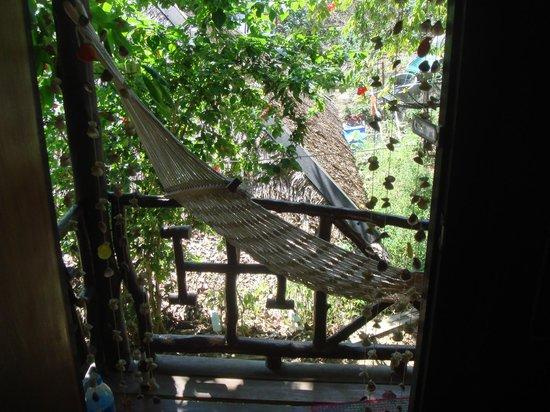 Hammock on my balcony picture of viking natures resort for Balcony hammock