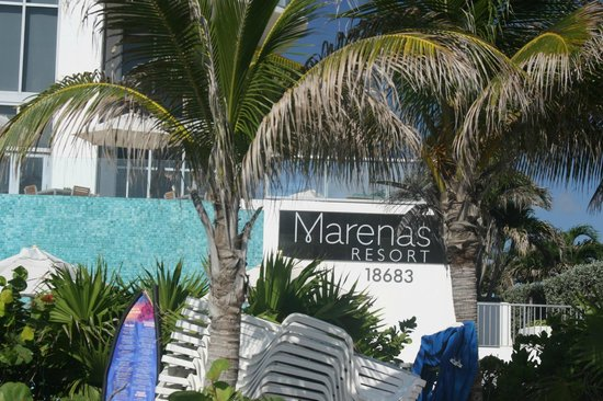 Entrance From Beach Picture Of Marenas Resort Sunny Isles