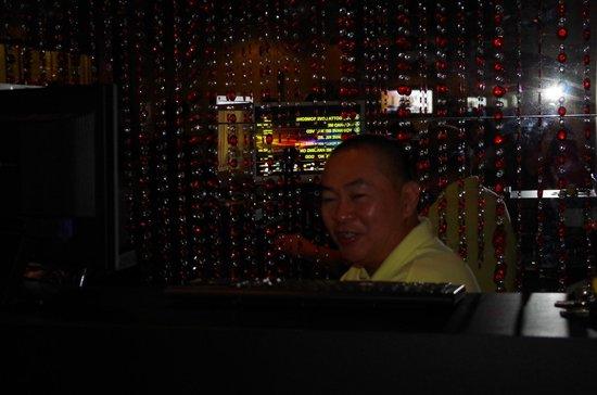 The Palace Hotel Kota Kinabalu: Friendly DJ in the Glamourous  Lounge