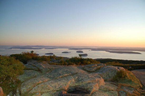Mount Desert Island: Sunrise from Cadillac Mountain