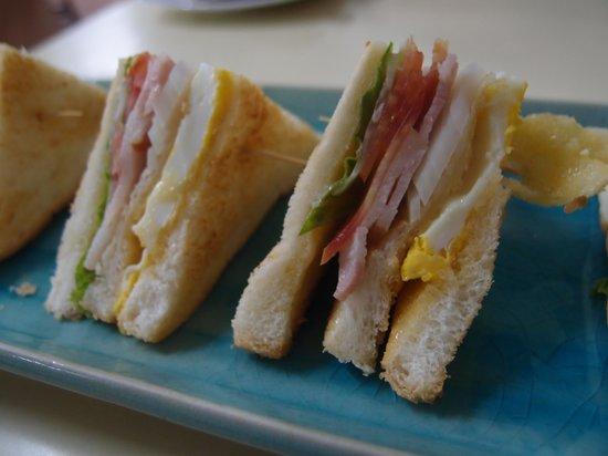 Krung Kasem Sri Krung Hotel: Clubsandwich
