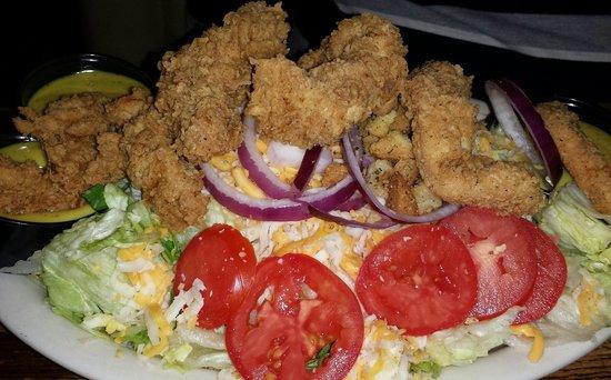 Lotawata Creek: Fried Chicken Salad