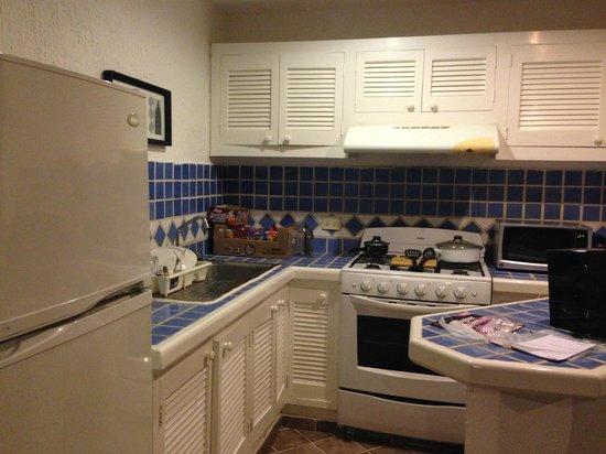 Las Gaviotas Hotel+Rent Aparment: Cozinha estilo Americana, integrada à Sala