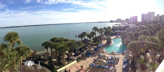 Clearwater Beach Marriott Suites on Sand Key: View from my room during the day!