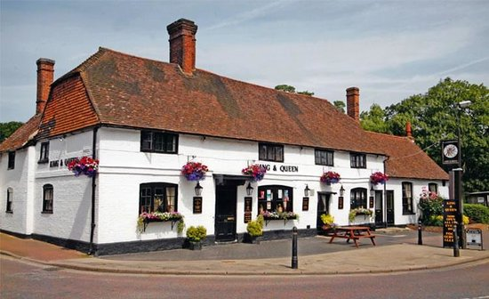 East Malling, UK: The King and Queen