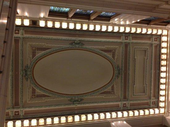 Kimpton Hotel Monaco Baltimore Inner Harbor: more amazing ceiling details